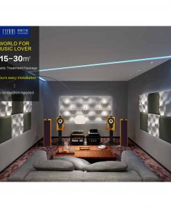 Hi-Fi Room Acoustic Treatment – Cloud