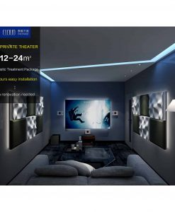 Home Theatre Acoustic Treatment – Cloud Package