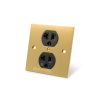 MS HD Power MS-750RHK 78K Rhodium US Wall Socket